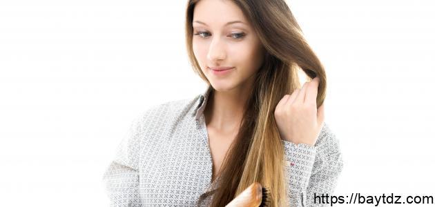 طريقة سهلة لجعل الشعر ناعماً كالحرير