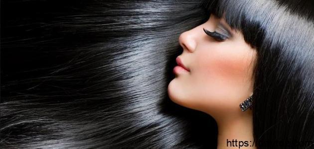 طريقة صبغ الشعر أسود طبيعي