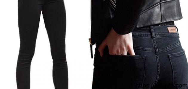 طريقة صبغ بنطلون جينز أسود