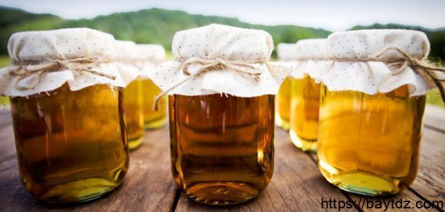 طريقة صنع العسل في البيت
