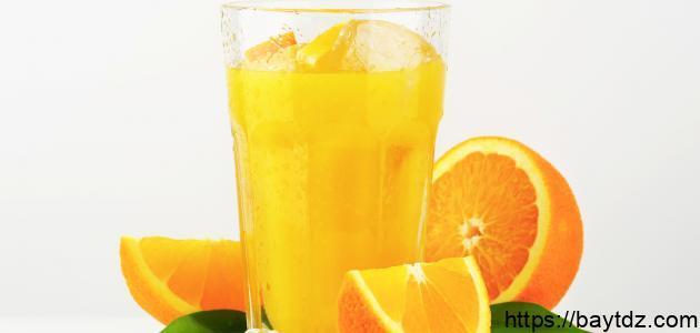 طريقة صنع عصير البرتقال