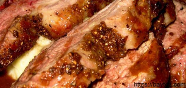 طريقة طبخ لحم الغزال