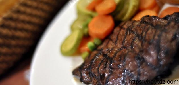 طريقة طبخ لحم النعام