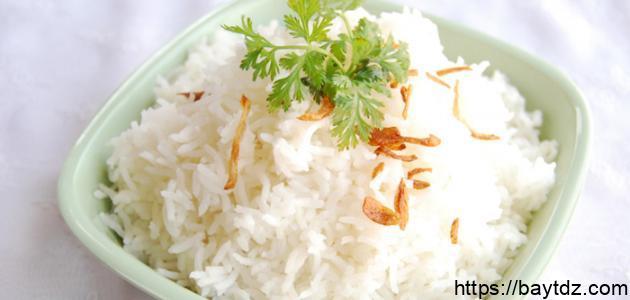 طريقة طحن الأرز