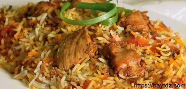 طريقة عمل أرز البرياني