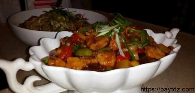 طريقة عمل أكلات صينية