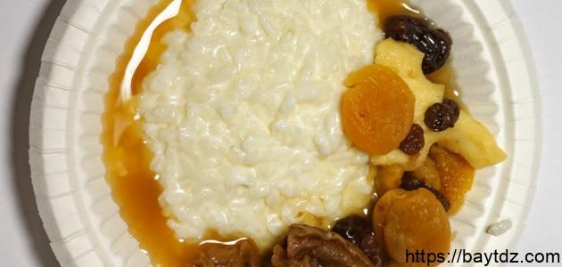 طريقة عمل الأرز بالقشطة