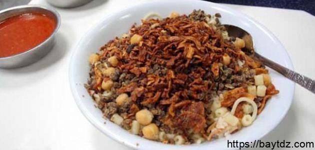 طريقة عمل الأكلات المصرية
