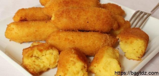 طريقة عمل البطاطا بانيه