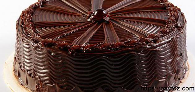 طريقة عمل الجاتوه بالشوكولاتة