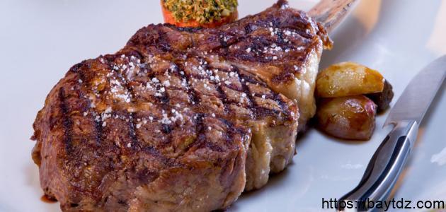 طريقة عمل اللحم الضاني في الفرن