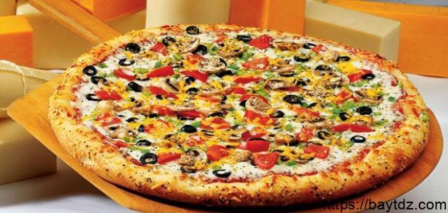طريقة عمل بيتزا سريعة