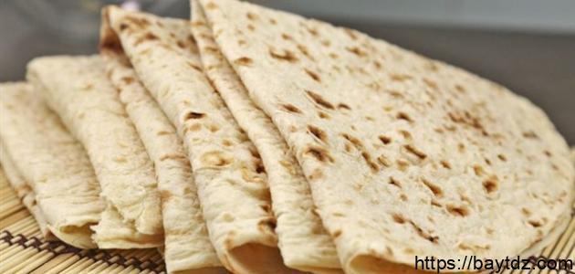 طريقة عمل خبز الصاج بالبيض