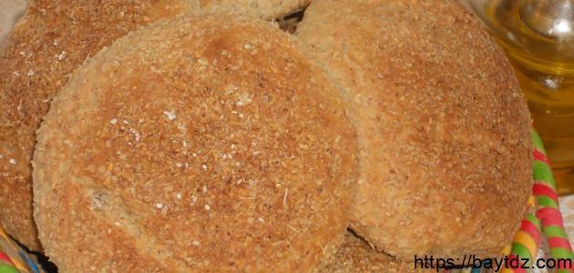 طريقة عمل خبز النخالة للرجيم