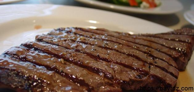طريقة عمل ستيك لحم بالصلصة