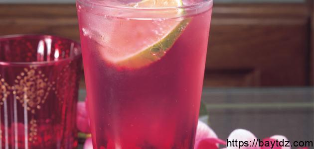 طريقة عمل شراب الورد الطبيعي