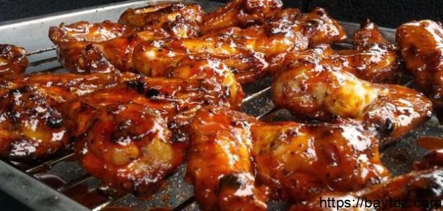 طريقة عمل صلصة الدجاج المشوي