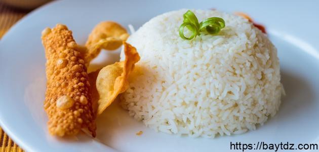 طريقة عمل صينية الأرز بالقشطة
