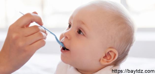 طريقة عمل طعام الأطفال أقل من سنة