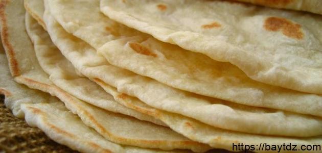 طريقة عمل عجينة خبز الرقاق