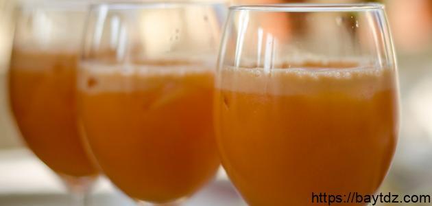 طريقة عمل عصير الفواكة في البيت