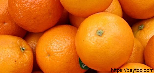 طريقة عمل عصير برتقال