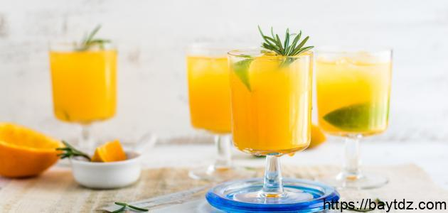 طريقة عمل عصير طبيعي