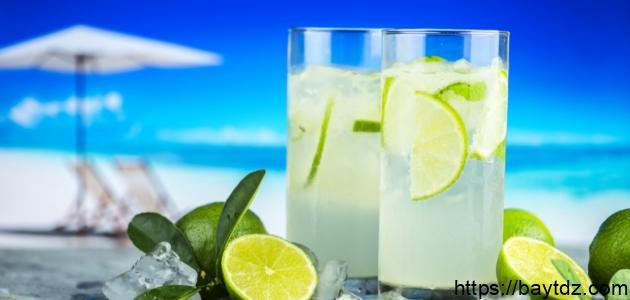 طريقة عمل عصير ليمون ونعناع