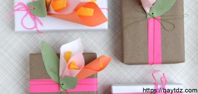 طريقة عمل علب الهدايا