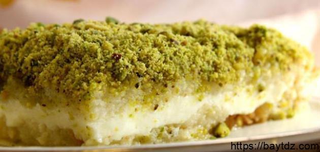 طريقة عمل كعكة ليالي بيروت