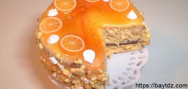 طريقة عمل كيك البرتقال
