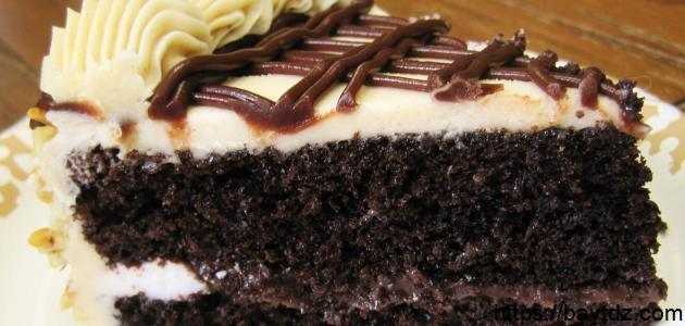 طريقة عمل كيك محشو شوكولاتة