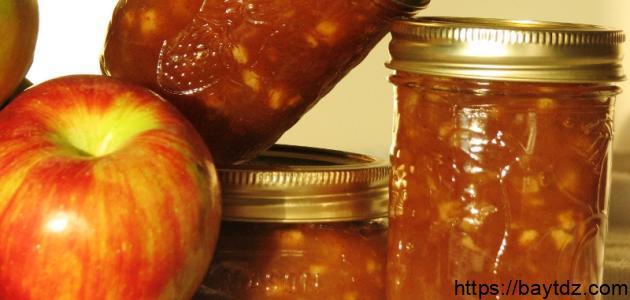 طريقة عمل مربى التفاح على الطريقة السورية