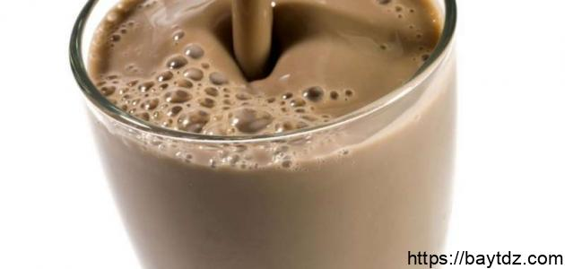 طريقة عمل مشروب الشوكولاتة
