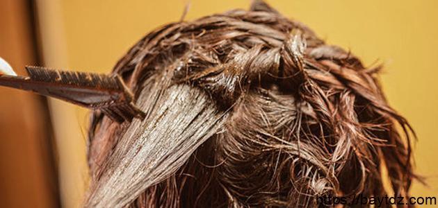 طريقة غسل الحناء من الشعر