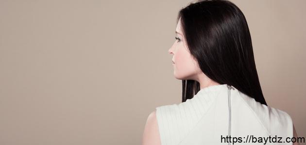طريقة فرد الشعر بالبوتاس