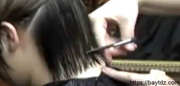 طريقة قص الشعر للأطفال البنات