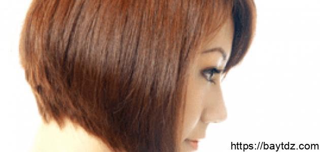 طريقة قص الشعر مدرج قصير