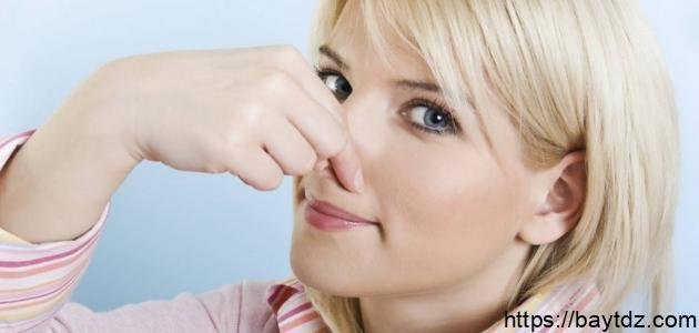 طريقة لإزالة رائحة العرق