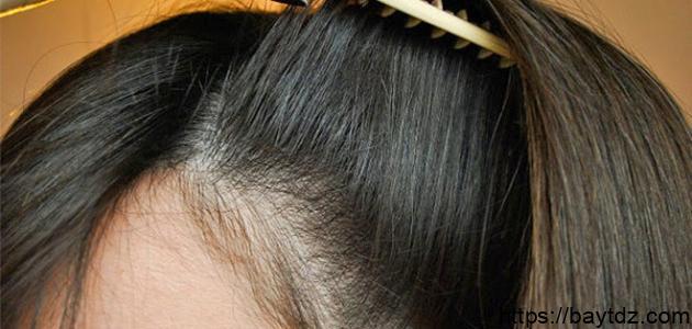 طريقة لتكثيف الشعر من الأمام