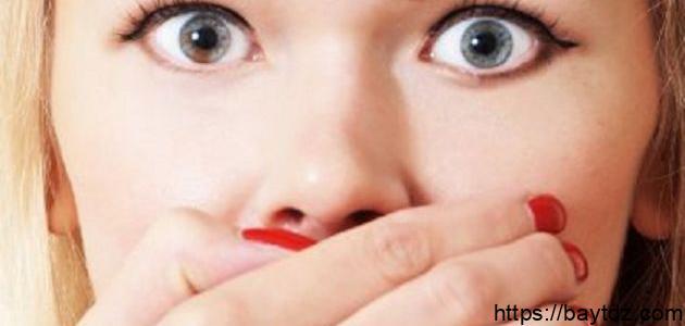 طريقة للتخلص من رائحة الفم