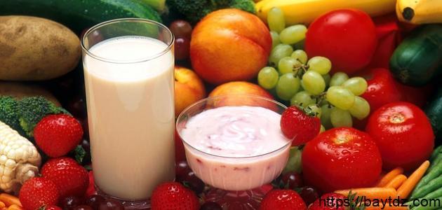 طريقة نظام غذائي صحي