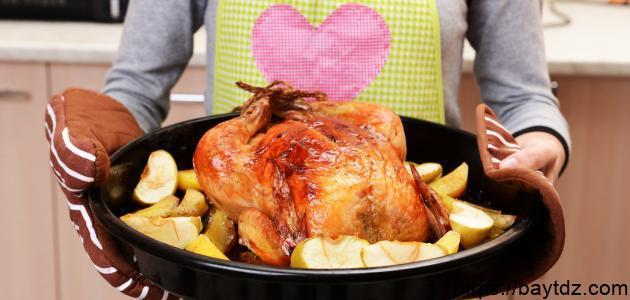 طريقة نقع الدجاج بالخل