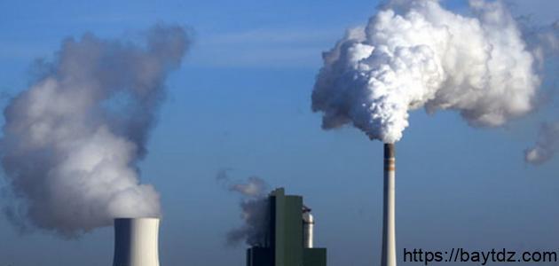 ظاهرة التلوث
