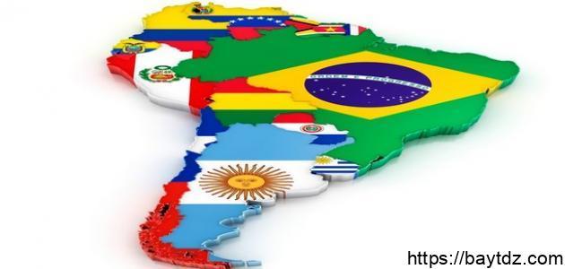عدد دول أمريكا اللاتينية