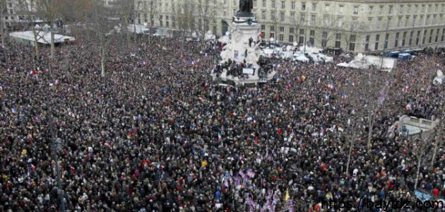عدد سكان فرنسا