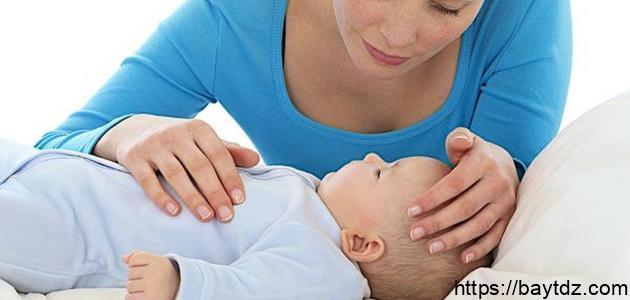 علاج ارتفاع درجة الحرارة عند الأطفال الرضع