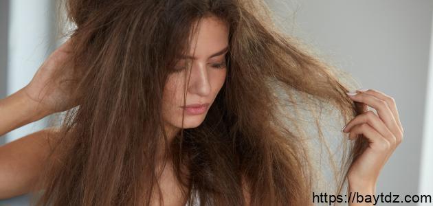 علاج تقصف وخشونة الشعر