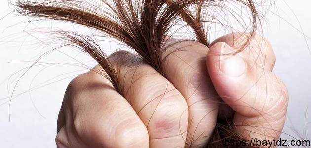 علاج لتقصف الشعر