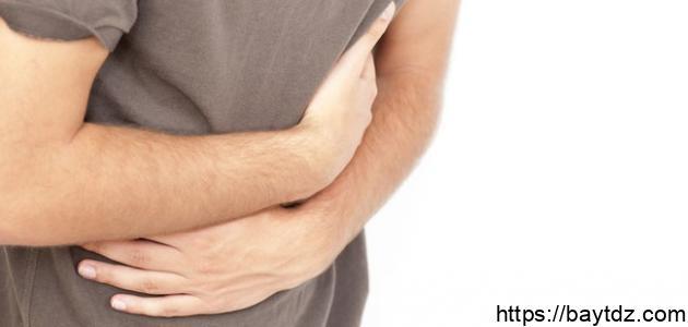 علاج مغص البطن والإسهال